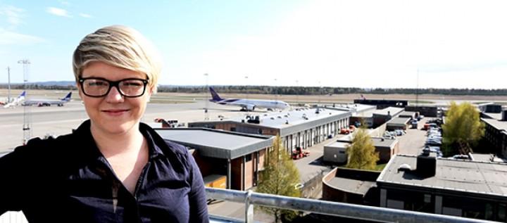 Flyplassportrett